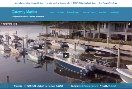 Gateway Marina Website Demo Link