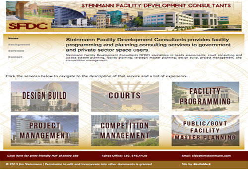 Jim Steinmann Website Demo Link